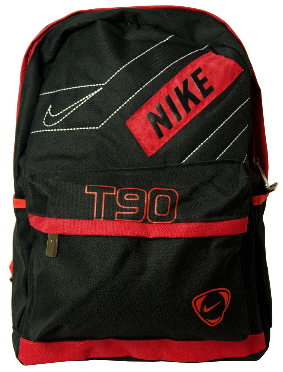 Рюкзак Bag 7118-H red, черный/красный 13 л