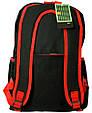 Рюкзак Bag 7118-H red, черный/красный 13 л, фото 2