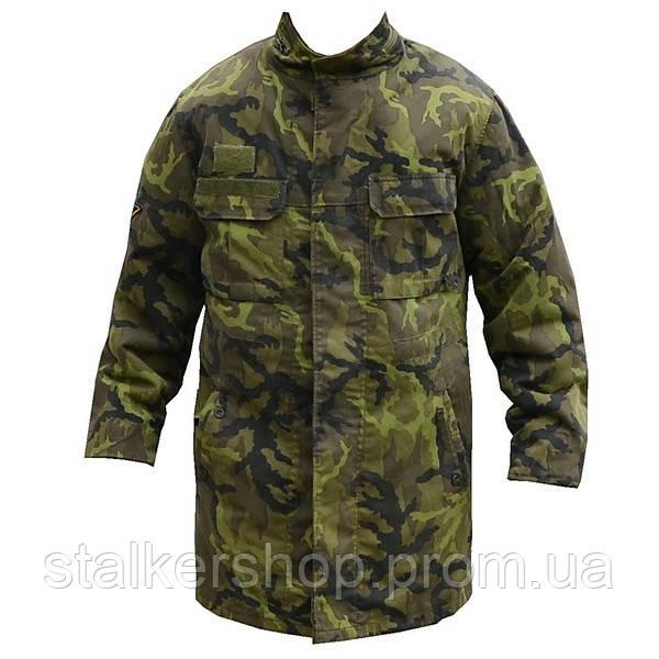 Бушлат зимовий з капюшоном армії Чехії, камуфляж