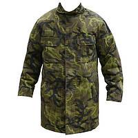 Бушлат зимний с капюшоном армии Чехии, камуфляж