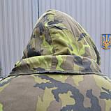 Бушлат зимовий з капюшоном армії Чехії, камуфляж, фото 4