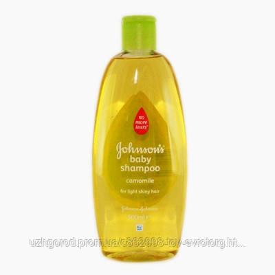 Детский шампунь Johnson Baby Shampoo camomile 500 мл.
