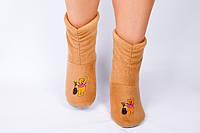 """Флисовые тапочки-сапожки """"Винни-пух"""" (детские, размер 18-32)"""
