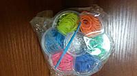 Резинки для плетения браслетов  150 штук