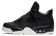 Баскетбольные кроссовки Air Jordan 4 Retro Premium Аир Джордан черные