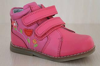 Кожаные ботинки на девочку Том.м р.18,20, фото 3
