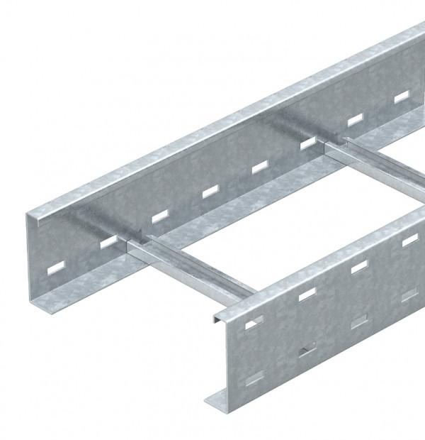 Лоток драбинного типу 80х600 посилений, гарячого цинкування, метод Сендзіміра, L 3000