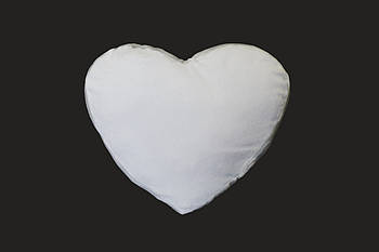 Подушка плюшевая сердце для сублимации от производителя Украина