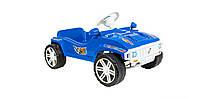 Детская педальная машина (792) Орион синяя