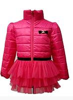 Детская демисезонная куртка для девочек от 98 до 110 см рост.