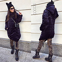 """Женская бархатная куртка """"Зефирка"""" в расцветках Ш896"""