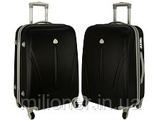 Чемодан сумка 882 XXL набор 3 штуки розовый, фото 2