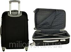 Чемодан сумка 882 XXL набор 3 штуки розовый, фото 3