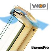 Мансардне вікно Fakro відхильно-обертальне (FPP-V U3 preSelect)(дерев'яне)
