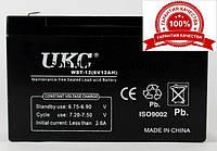 Аккумуляторная батарея battery, аккумулятор BATTERY 6V 10A UKC, аккумулятор tyumen battery