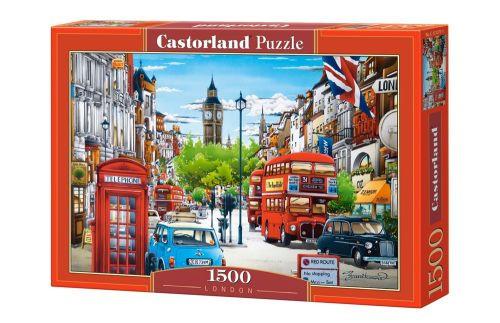 Пазлы Castorland Улочки Лондона С-151271, 1500 элементов