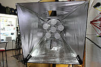 Постоянный студийный свет Falcon  6xLED12 + софт бокс 60х60 LED-B628FS ( на складе )