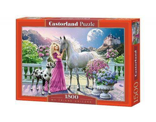 Пазлы Castorland Единорог С-151301, 1500 элементов