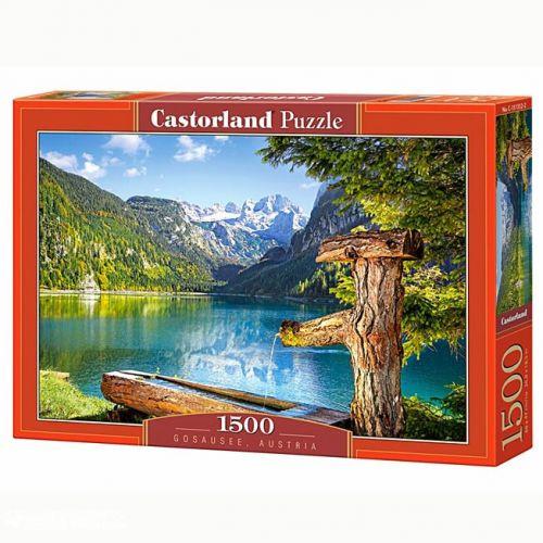 Пазлы Castorland  Gosausee Австрия С-151332, 1500 элементов