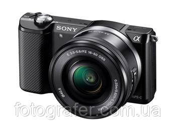 Фотоаппарат Sony Alpha 5000 kit 16-50 Black / White Гарантия производителя ( на складе )