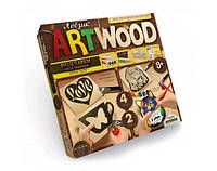 "Комплект креативного творчества ""ARTWOOD"" подставки под чашки 5930 , фото 1"