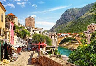 Пазлы Castorland Старый город Мостар С-151387, 1500 элементов