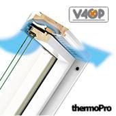Мансардне вікно Fakro відхильно-обертальне(FPU-V preSelect)(вологостійке)