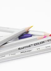 Карандаши цветные в металлическом пенале36цв. Marco Raffine 7100-36TN, фото 3