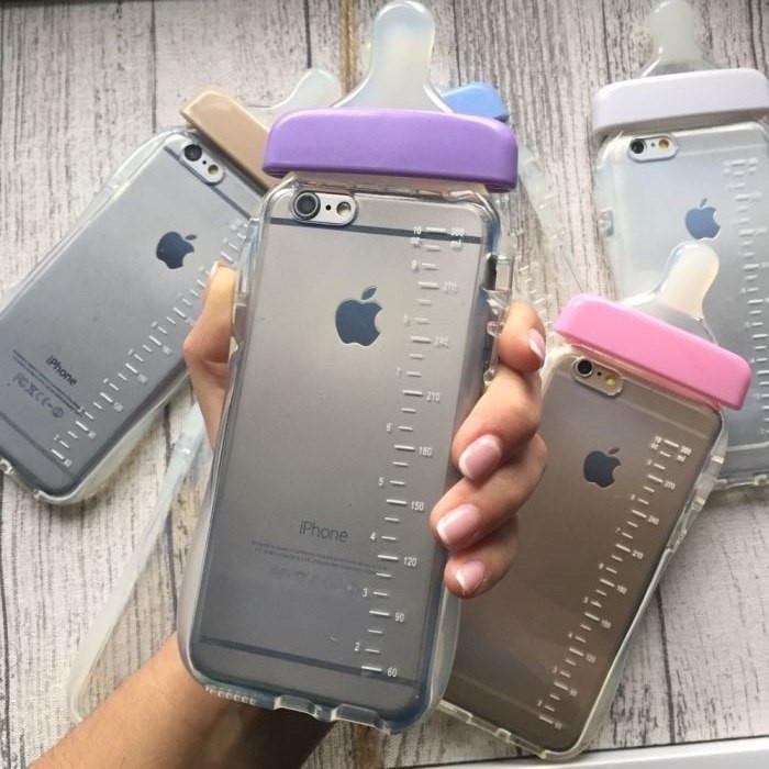 Силиконовый чехол в виде соски iPhone 6/6s