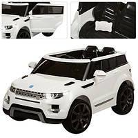 Детский электромобиль M 3108 EBR-1 Land Rover, колеса EVA, белый