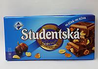 Шоколад молочний Studentska з арахісом та ізюмом