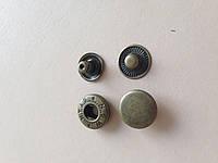 Кнопка альфа, диаметр 15 мм, цвет - антик, в упаковке - 20 шт., артикул СК 5099
