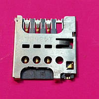 LG L60 X135 DUAL sim коннектор б/у