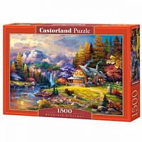 Пазлы Castorland Домик в горах С-151462, 1500 элементов