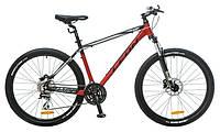 "Велосипед 26"" Leon XC-80 AM 14G HDD рама-18"" Al красно-черно-белый 2016"