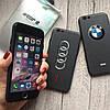 Силиконовый чехол с логотипами автомобилей iPhone 6/6s
