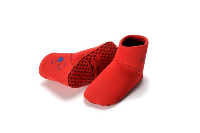 Носки для бассейна и пляжа Paddlers, Цвет: Red, XL/ 24-36 мес, фото 2