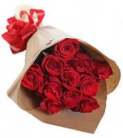 """Букет красных роз """"Престиж"""""""