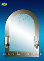 Зеркало 161 с 2мя светильниками