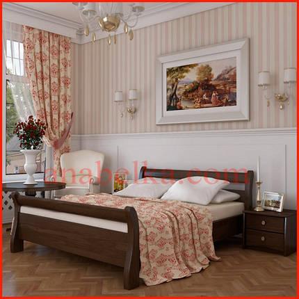 Кровать деревянная  Диана  (Эстелла), фото 2