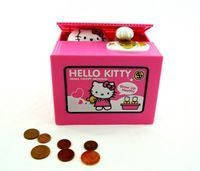 Копилка интерактивная Кот-воришка Hello Kitty (Хелло Китти), money box, фото 1