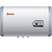 Бойлер настенный Thermex FLAT PLUS IF 50 H, горизонтальный, 1,3+0,7 кВт, бак из нерж, стали, электронная панель управления