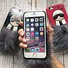 Чехол кожа с пушком Фенди для iPhone 6/6s, фото 3