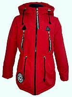 Куртка демисезонная парка на девочку 53551