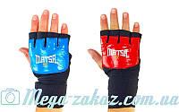 Перчатки с бинтом внутренние гелевые Matsa 6021, 2 цвета: кожа, M/L/XL