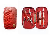 Маникюрный набор змейка НМ-01 красный Сталекс (Украина)