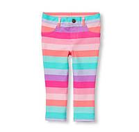 Джеггинсы для девочки Childrenplace цветные полоски