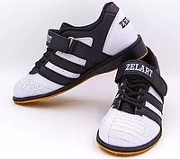 Штангетки обувь для тяж.атлетики ZEL Кожа OB-4588-40 (р.40)