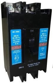 Автоматический выключатель АЕ 2066  200А