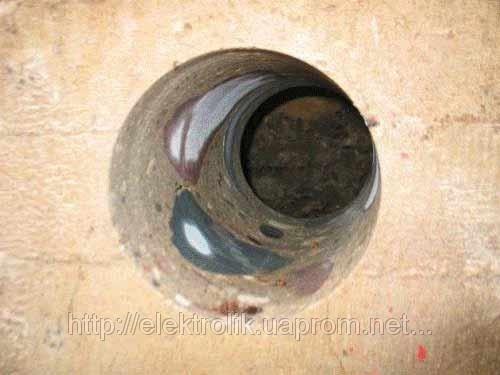 Алмазное сверление отверстий в железобетоне d 162мм Киев